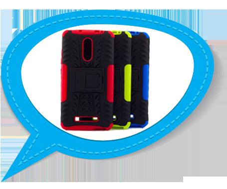 Надежная защита любимого смартфона с Противоударным двухслойным чехолом Shield с подставкой