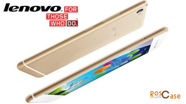 толщина нового смартфона Леново вид сбоку