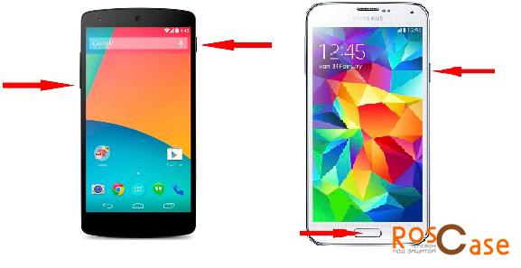 Скриншот на смартфонах с ОС Android