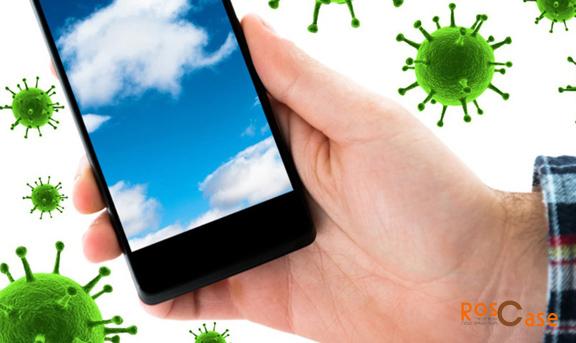 Бактерии на смартфоне