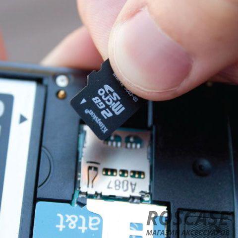 Извлечение карты памяти с телефона