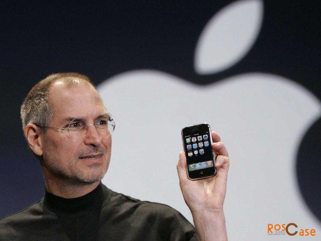 фото Стив Джобс и Apple Iphone 1