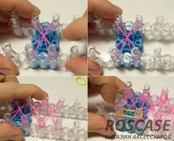Уроки плетения чехла из резиночек