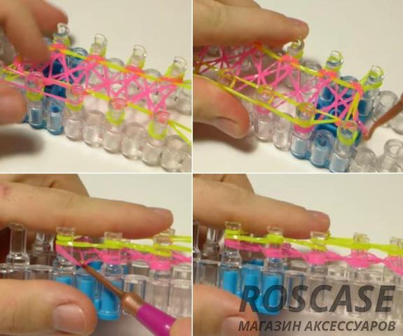 Инструкция плетения чехла из резинок
