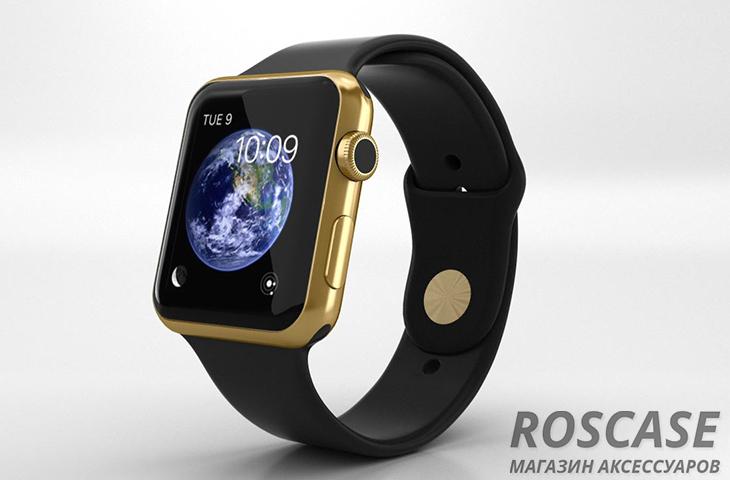часы Apple Watch в золоте