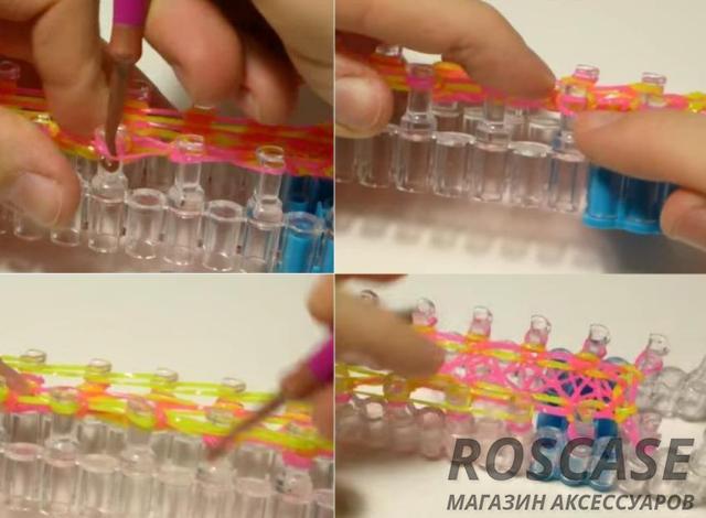 Схема изготовления чехла из резинок