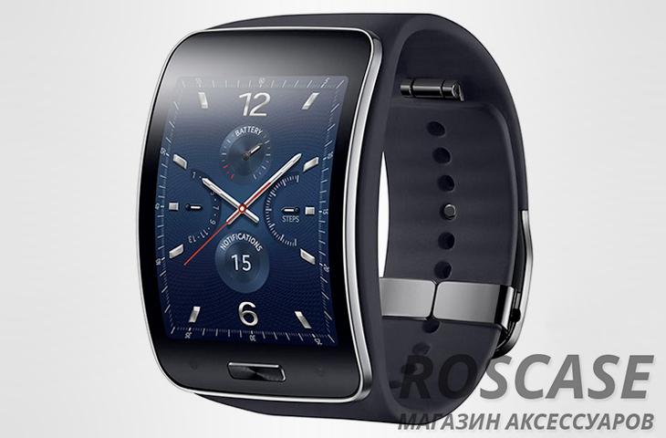 часы Samsung Gear S изогнутые