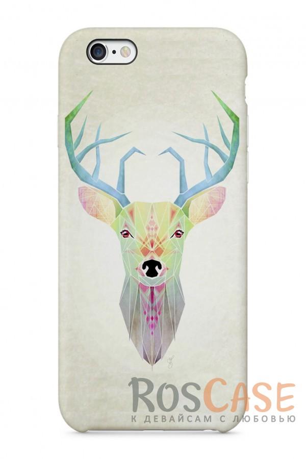"""Фото Лесной Олень Пластиковый чехол RosCase """"Лесные животные"""" для iPhone 6/6s (4.7"""")"""