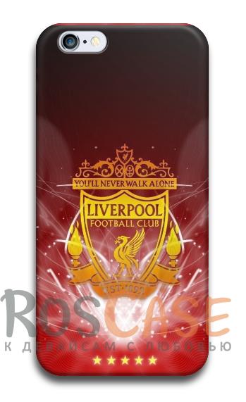 """Фото Ливерпуль №2 Пластиковый чехол RosCase """"Футбольные команды"""" для iPhone 5C"""