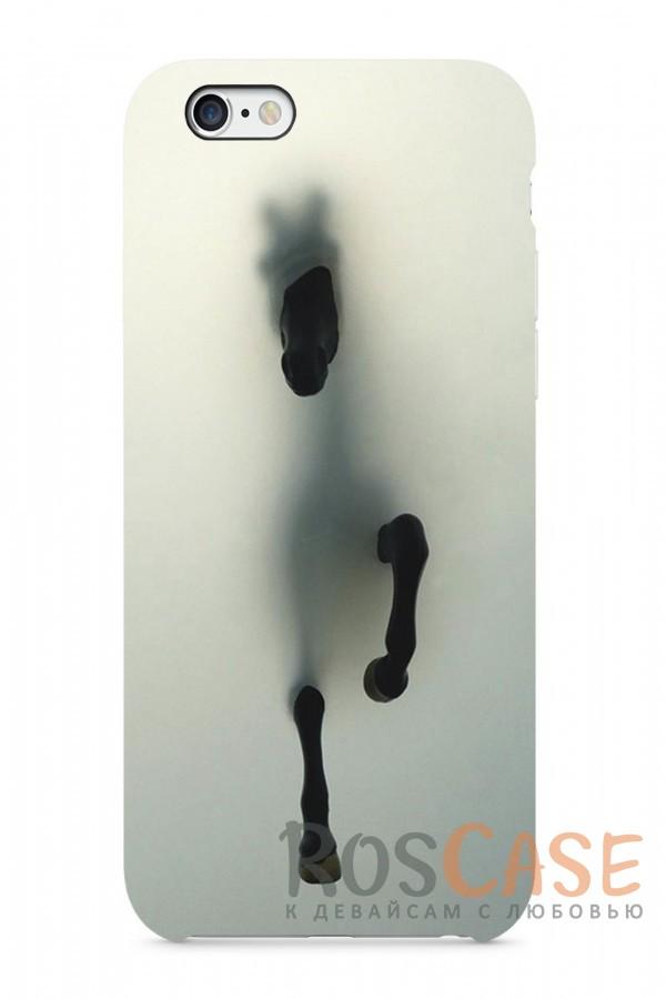 "Фото Иллюзия Лошади Пластиковый чехол RosCase ""Лошади"" для iPhone 6/6s (4.7"")"